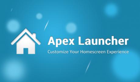 Apex Launcher Download APK 2.1
