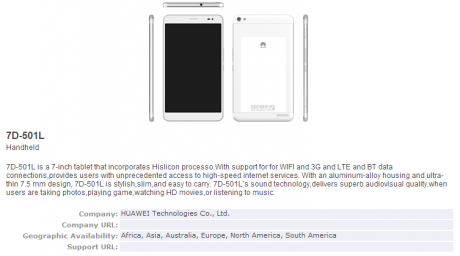 Huawei 7D 501L