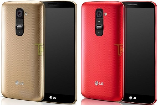 LG G2 Gold Rosso