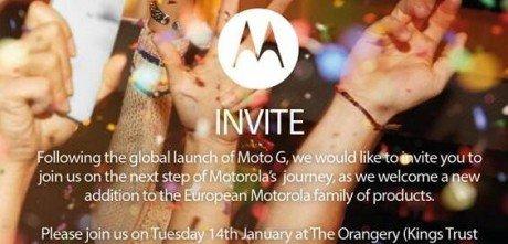 Moto X Europa