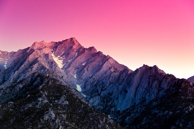 Sierra Sunset, Lone Pine, California.