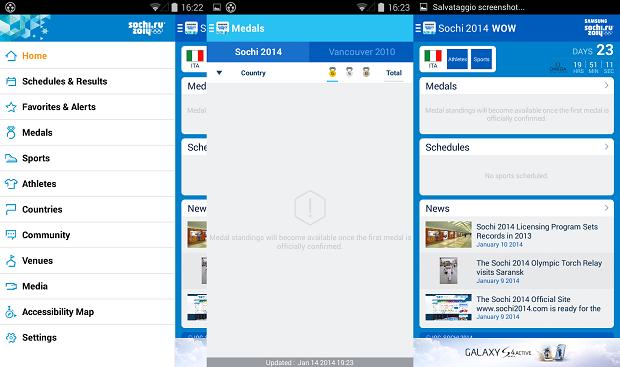 Sochi 2014 Android