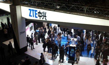ZTE stand at MWC 2013