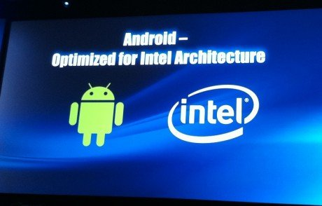 Android and intel