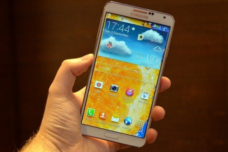 Galaxy note 3 android smartphone by samsung