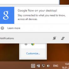 google-now-chrome-windows