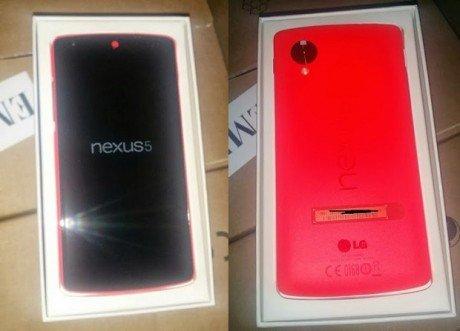 Nexus 5 rosso red
