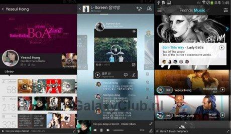 Samsung galaxy s5 mp3 friends music