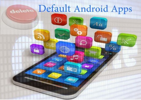 Uninstall default android apps