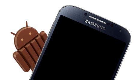 Android KitKat Samsung