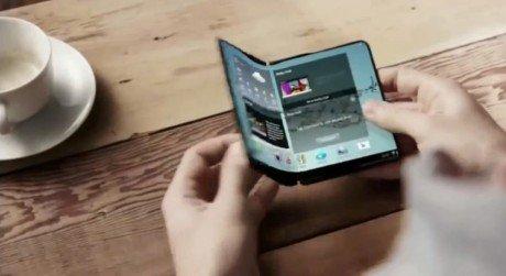 Samsung flexible display promo image 001