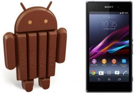 Sony Xperia Z1 Android 4.4 KitKat2