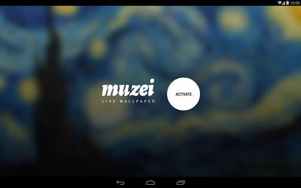 Roman Nurik pubblica Muzei, un Live Wallpaper con le opere ...