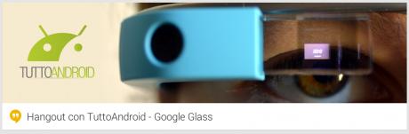 Hangout Google Glass
