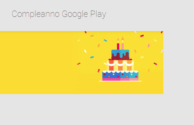 compleanno google play