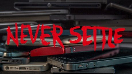 Oneplus one never settle campaign 1