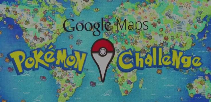 pokemon maste google maps