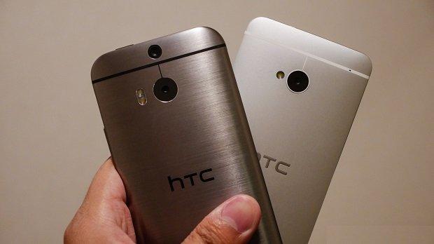 HTC One M8 vs One M7
