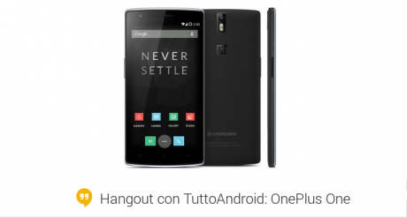 Hangout OnePLus One