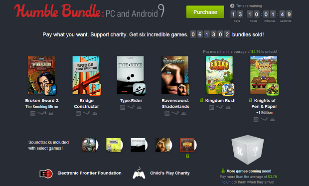 Humble Bundle 9 for PC and Android