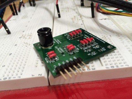 Infrared camera lens module under development.1