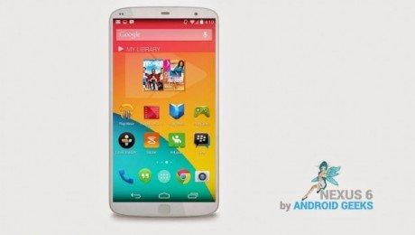 Nexus 6 Concept 600x340