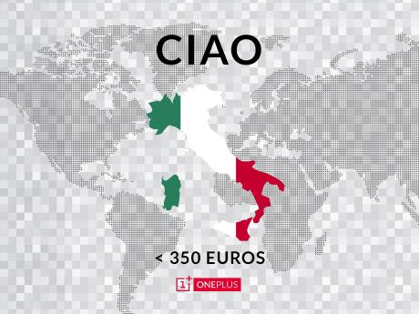 OnePlus Ciao Italia