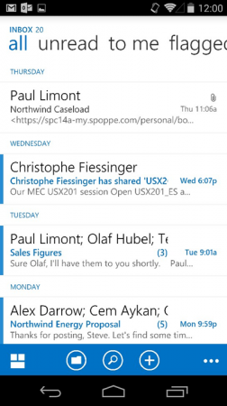 Outlook Android