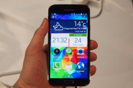 Samsung Galaxy S5 home screen1