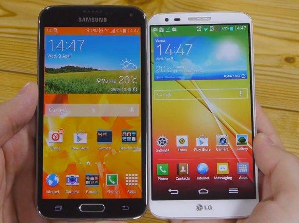 Samsung-Galaxy-S5-vs-LG-G2