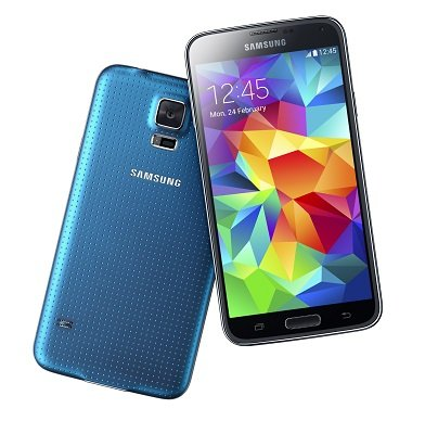 Samsung Galaxy S5 blue 11