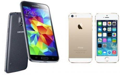 Samsung Galaxy S5 vs iPhone 5S thumb