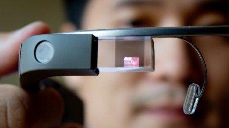 Google glass augmented reality