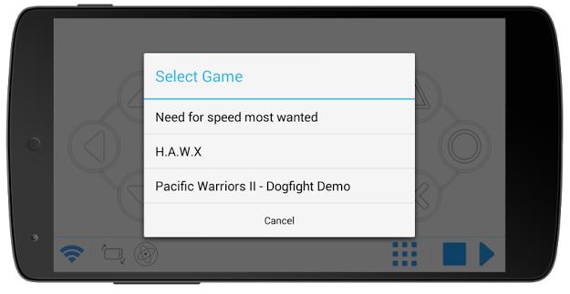 mobile gamepad