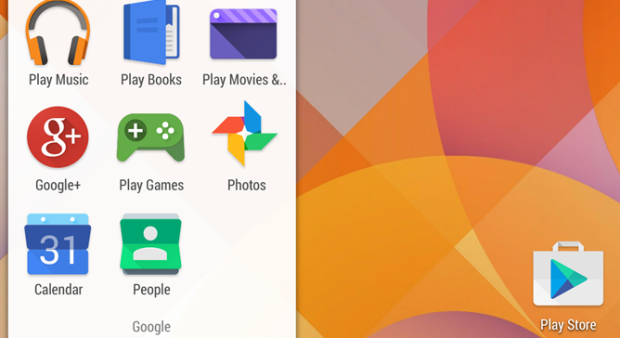 nuove icone app google android