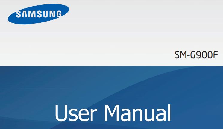 s5 user manual