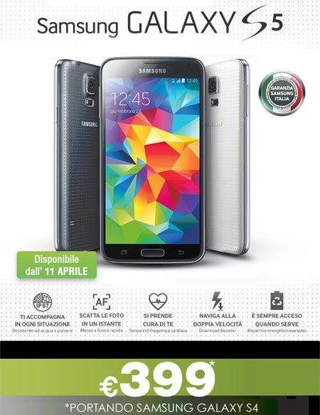 Samsung Galaxy S5 399