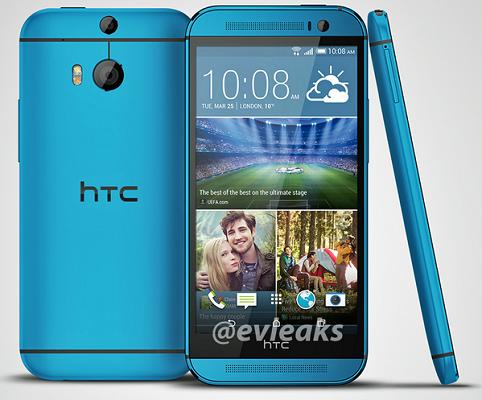 HTC One M8 blu
