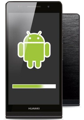 HUA Ascend P6 black front 1 Android
