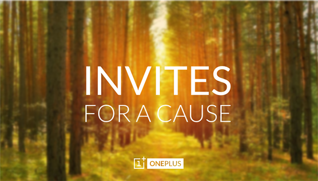 Invites for a cause
