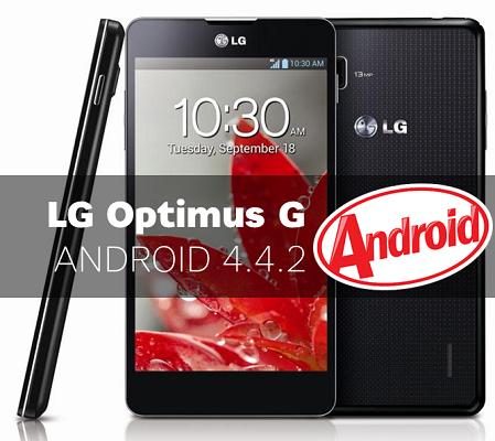 LG Optimus G kitkat