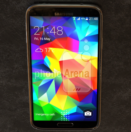 Leaked pictures of the Samsung Galaxy S5 Prime2