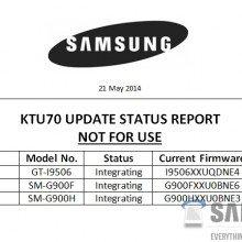 Samsung-KTU70-UpdateReport