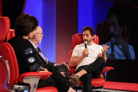 Sergey Brin Code Conference 2014