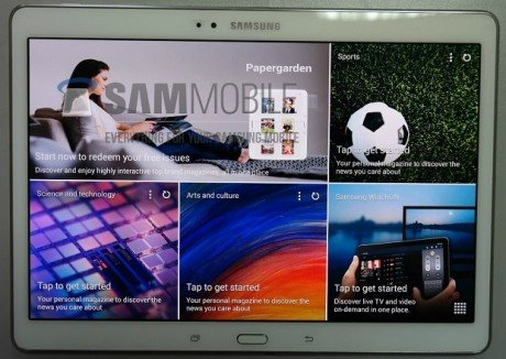Tab s 10.5 front