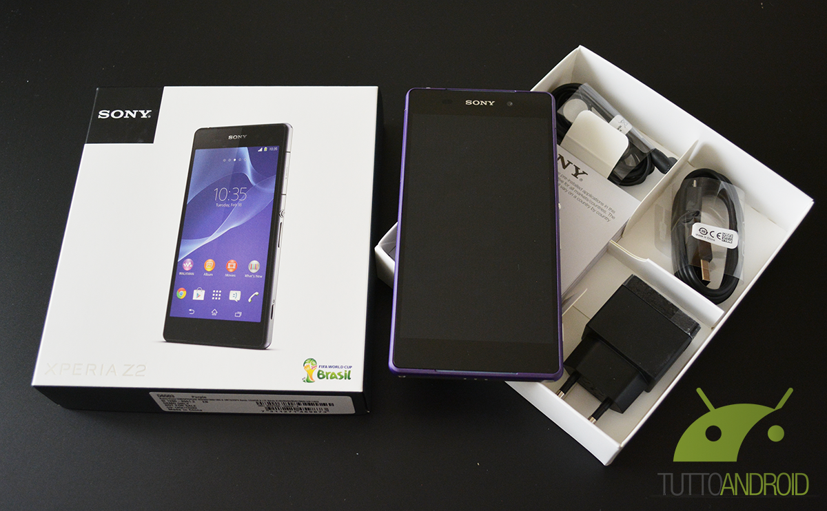 xperiaz2-unboxing