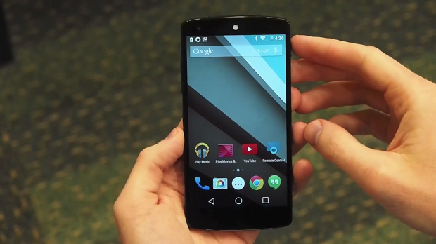 Android L 5.0 Video