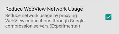 Android L Compressione Dati