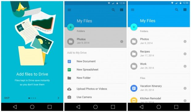Android-L-Google-Drive-Material