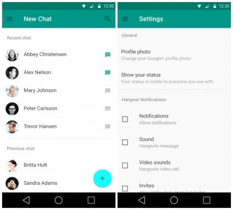 Android-L-Material-Hangouts